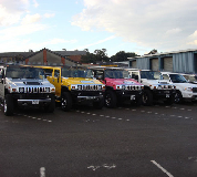 Jeep Limos and 4x4 Limos in South Wales and North Wales