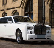 Rolls Royce Phantom Limo in South Wales and North Wales